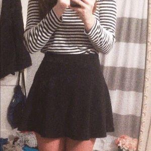 Juniors Decree Cotton Skater Skirt